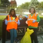 A recess break at Van Horn Park