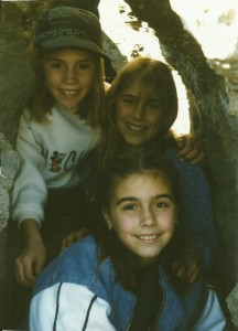 Somer, Amber, Casey; Newberry Crater, 98-99