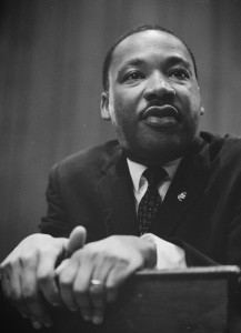 Dr. King in 1964. (Public Domain)